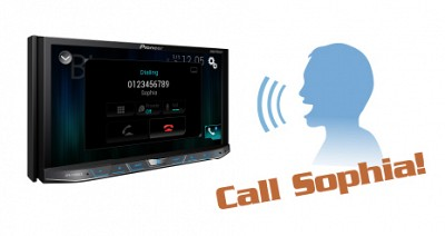 AVH-501EX_AppRadio, Android, iPod, Bluetooth_voice_control