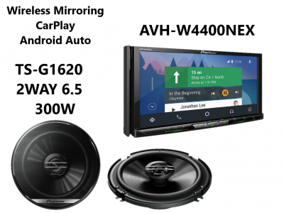 Pioneer AVH-W4500NEX Wireless CarPlay Android Auto | Extra 10% off unit  with purchase of installation
