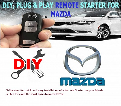 Mazda_Plug_and_Play_Remote_starter_installation