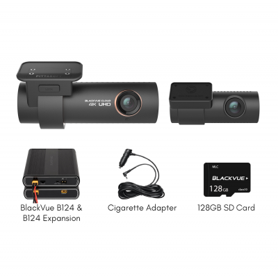 Blackvue_DR900S-2CH_128GB_with_B-124_Battery_Pack_and_B-124E_Expansion_Bundle