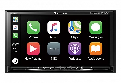 Pioneer_DMH-1500NEX_CarPlay_Double_Din