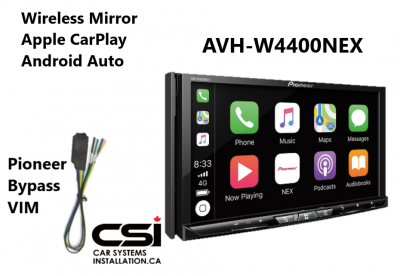 AVH-W4400NEX_Car-Play_Android-Auto_Wireless_mirror_Bypass_combo