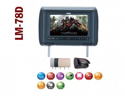 Savv LM-78D 7″ Headrest DVD system