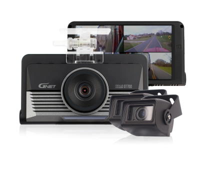 GNET GT700 3 Channel Truck Dash Cam | Wifi | GPS up to 2TB* memory | Tocuh screen