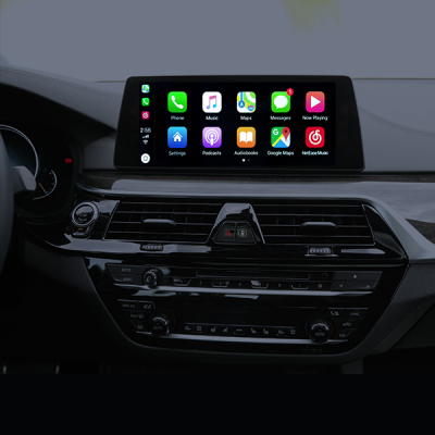 YP-CPAA-BMW81 Wireless Apple CarPlay, Android Auto OEM integration for BMW NBT-EVO ID5 & ID6