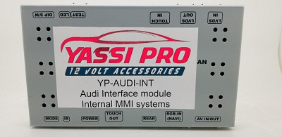 YP-AUDI-INT camera Add-On module for Audi without MMI | Dynamic Parking Guide Line | Multiple video inputs
