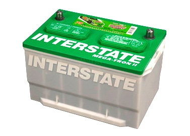 Interstate Mega-Tron II Car and Truck Batteries