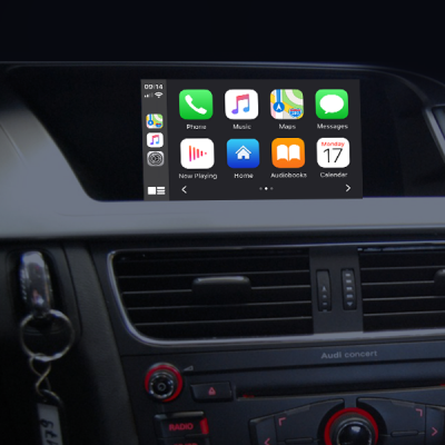 YP-CPAA-320SYM Wireless Apple CarPlay, Android Auto OEM integration for Audi without MMI