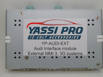 YP-AUDI-EXT camera Add-On module for Audi with 3G MMI | Dynamic Parking Guide Line | Multiple video inputs