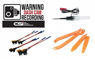 CSI Dash cam installation kit | All you need for dash cam installation