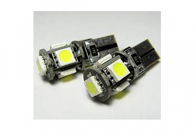 194 CAN-BUS ERROR FREE 5-LED BULB