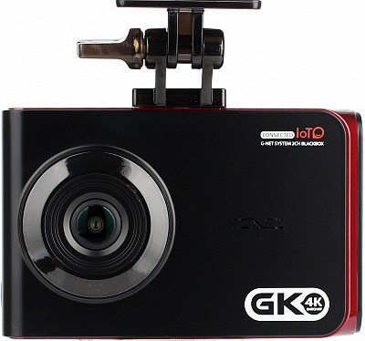 GNET GK 4K Dash cam 2 channel | 64GB | GPS | Wifi APP | Cloud | Hardwire | Advanced parking mode | 160 Wide view angle