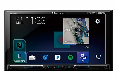 Pioneer MVH-2400NEX, Apple CarPlay, Android Auto, Digital Multimedia 7