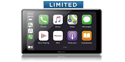 Pioneer DMH-WT7600NEX Wireless Apple Carplay, Android Auto, 9