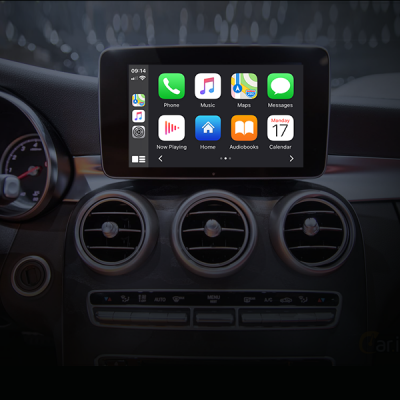 YP-CPAA-MB38 Apple Wireless CarPlay/Android Auto OEM integration Mercedes-Benz NTG 5.0/5.1/5.2