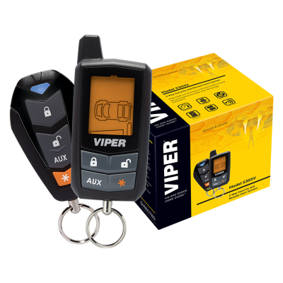 Viper 5305 Remote Starter Alarm Combo 2 Way LCD