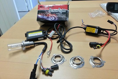 BI-XENON MOTORCYCLE HID KIT