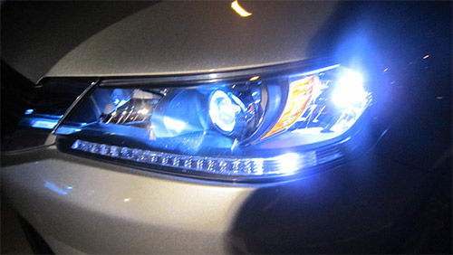 Upgrading headlights to HID or LED