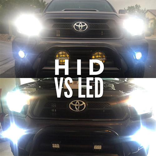Halogen Light Vs Led >> Upgrading Headlights to HID or LED | Car Systems ...