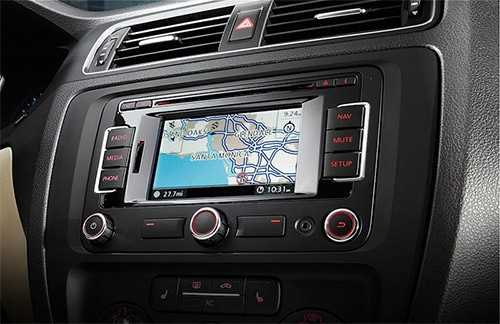 in-dash system